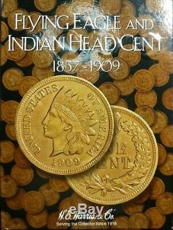 1857-1909 Flying Eagle Indian Head Penny Cent Collection #IC3 Near Complete