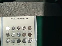 1857-1909 INDIAN HEAD CENT COLLECTION 56 Coins Mostly Good Nearly Complete Set