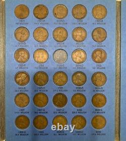 1909-1940 Lincoln Head Cent Collection Near Complete Whitman Folder No. 9004