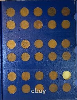 1909 1940 Lincoln Wheat Penny Collection Nearly Complete (58) P, D, S Coin Set