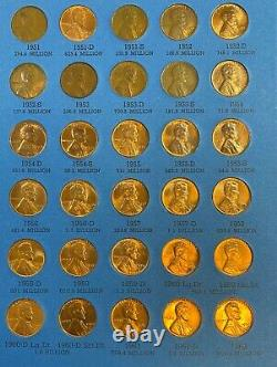 1909 1974 Lincoln Penny Wheat Cent Nearly Complete Collection (178) Coin Set