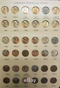 1909 2006 Wheat Cent Lincoln Penny Collection/Set Nearly Complete Dansco Album