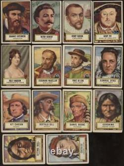 1952 Topps Look n See G G/VG avg near complete set 119 of 135 cards 61437