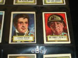 1952 Topps Look'n See Near Complete Set with Babe Ruth-(119) of (135)