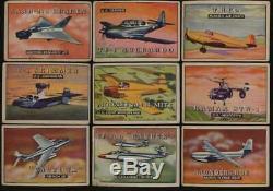 1952 Topps Wings G/VG avg near complete set 185/200 cards 54833