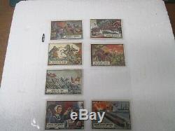 1962 Topps Civil War News Near Complete Set 79 of 88 Cards