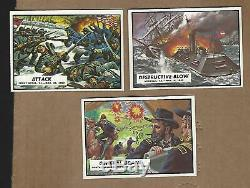 1962 Topps Stunning CIVIL War News Complete Set Near Mint +