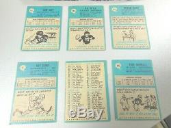 1964 64 Philadelphia FOOTBALL Near COMPLETE CARD SET COLLECTION 77/198 set #2