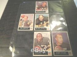 1965 65 Philadelphia FOOTBALL Near COMPLETE CARD SET COLLECTION 131/198 set #2