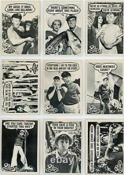 1965 Topps Gilligan's Island Near-Complete Set (40-of-55) VG to EX
