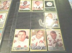 1967 67 Philadelphia FOOTBALL Near COMPLETE CARD SET COLLECTION 149/198 set #2