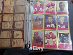 1967 67 Philadelphia FOOTBALL Near COMPLETE CARD SET COLLECTION 160/198 set #1