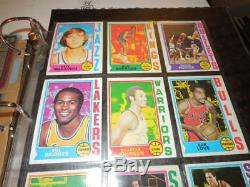 1974-75 TOPPS Basketball Near Complete Set 260/264 cards -Ex+ Collection set #4