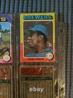 1975 Topps Baseball Cards Near Complete Set Check It Out- Needs 2 Cards