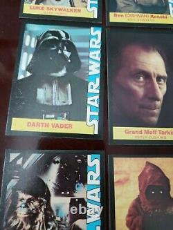 1977 Star Wars Complete 16 Card Set of Wonder Bread Cards, Near Mint