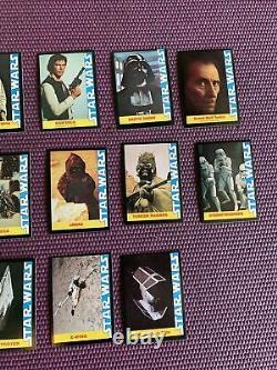 1977 Star Wars Wonder Bread Complete 16 Card Set NEAR MINT