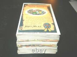 1985 85 Garbage Pail Kids GPK USA Series 2 near Complete Set 80 cards -Ex +