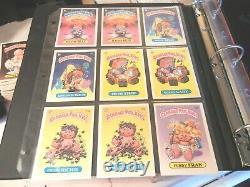 1985 85 Pail Kids GPK USA vintage Series 1 near Complete master Set 86 cards