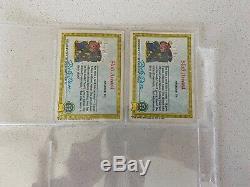 1985 Garbage Pail Kids 1st Series Near Complete Set. Read Item Description