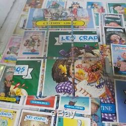 1987 Garbage Pail Kids France Les Crados Series 2 Near Complete 206 of 209