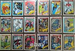1990 Marvel Comic Card Series 1 Complete Set With Holograms Near Mint