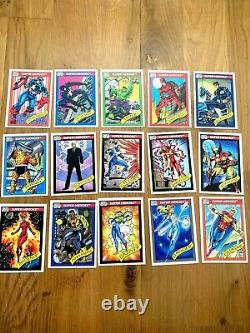 1990 Marvel Universe Series 1 Trading Cards Complete Set #1-162 Near Mint in Box