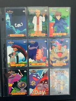 1999 Pokemon Topps TV Animation Complete Collection #1-76 and TV1-TV13 Near Mint
