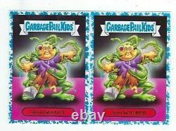 2017 Garbage Pail Kids Adam-Geddon near complete light blue set 167/180 xx/99