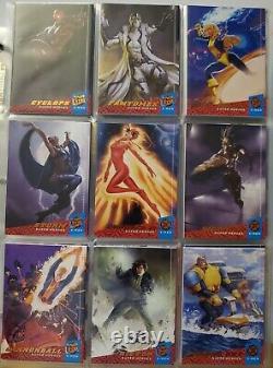 2018 Fleer Ultra X-Men Near Complete Base Set missing 9 cards 141 of 150