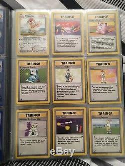 4th PRINT BASE SET Part Complete 85/102 Near Mint Vintage Pokémon Cards