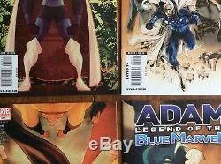 ADAM LEGEND OF THE BLUE MARVEL (2008)Near Complete Set 2 3 4 5 of 1-5 Avengers