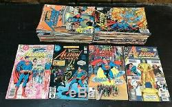 Action Comics #500-600 (-3 Issues) NEAR COMPLETE SET RUN! 1979 Comics VG-FN