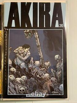 Akira # 1-38 NEAR FULL RUN COMPLETE HIGH GRADE