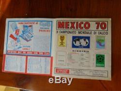 Album Figurine CALCIATORI Panini Mexico 70 quasi completo near complete Raro