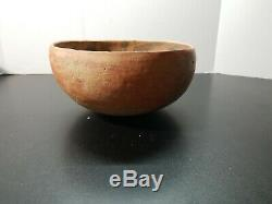 Anicent 9 Anasazi Bowl Wingate Black on Red 1200AD nearly found complete