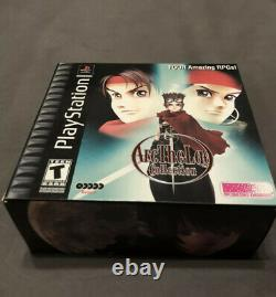 Arc the Lad Collection (Sony Playstation ps1) Complete in Box and Near Mint