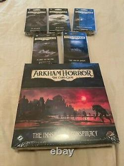 Arkham Horror LCG collection Nearly complete collection with storage box