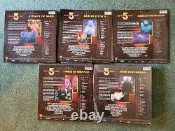Babylon 5 laserdisc 31 LaserDisc near complete set lot 43 not DVD not Blu-Ray