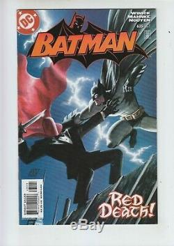 Batman #500-700 near COMPLETE run 567 570 608 HUSH 635 636 638 RED HOOD lot