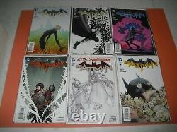 Batman New 52 near complete set 0-52 all around VF/NM! DC 1 2011 run 2192