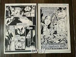 Books Of Magic #65 Near Complete Issue Original Comic Art 21 Of 22 Pages Vertigo