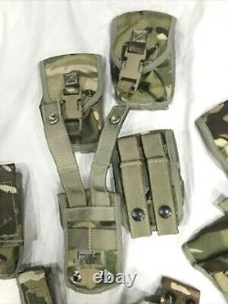 British Army Osprey MK 4 Body Armour Cover & Nearly Complete Pouch Set MTP #4063