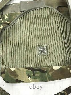 British Army Osprey MK 4 Body Armour Cover & Nearly Complete Pouch Set MTP #4066
