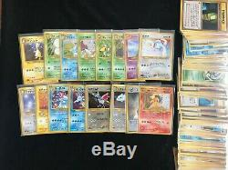 COMPLETE NEO GENESIS NEAR MINT pokemon tcg card rare holo charizard