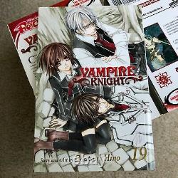 COMPLETE Vampire Knight Manga Vol. 1-19 (MOST NEAR MINT) Limited Edition Vol. 19