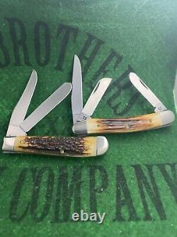 Case xx Complete 1979 Stag Bradford Centennial Set Clean Solid Unused Near Mint
