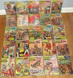 Classics Illustrated Comics Lot 1-155 Near Complete 59 1st Editions 155 Total