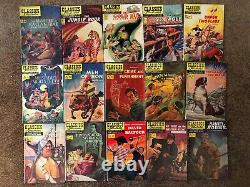 Classics Illustrated Vintage Comics Nearly Complete Set! 65 First Editions