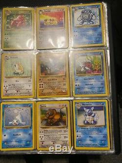 Complete Base Set 2 130/130 Near Mint Pokemon Cards Inc W Stamp Wortortle