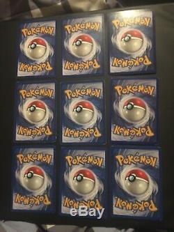 Complete Base Set Near Mint/EXC 102/102 Pokemon Cards Charizard 4/102 Blastoise